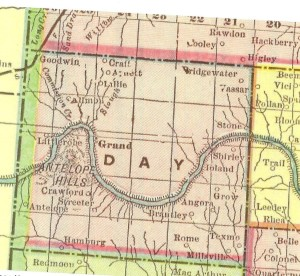 Map-Day Co 1903